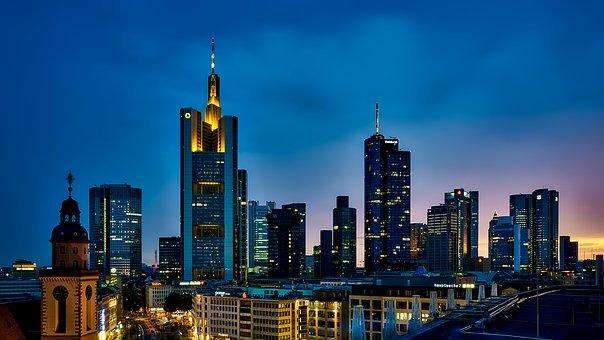 Le centre de la finance allemande